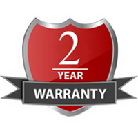 2 Years Manufacturer's Warranty