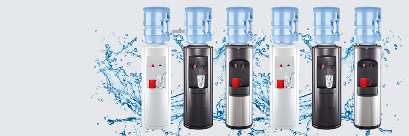 Water dispenser banner